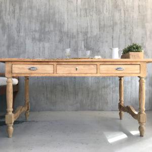 mesa de castaño