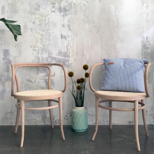silla de madera de haya