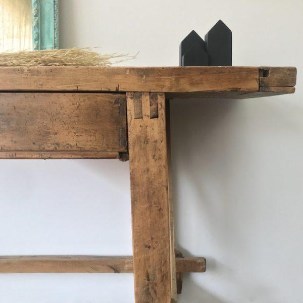 Banco de carpintero de madera