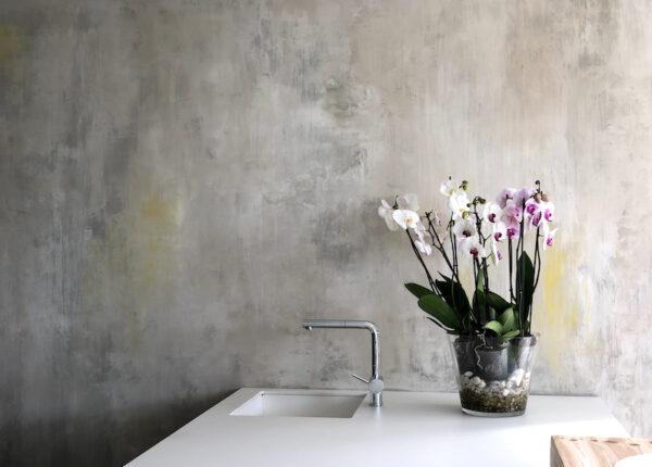 Pared decorativa distressed wall